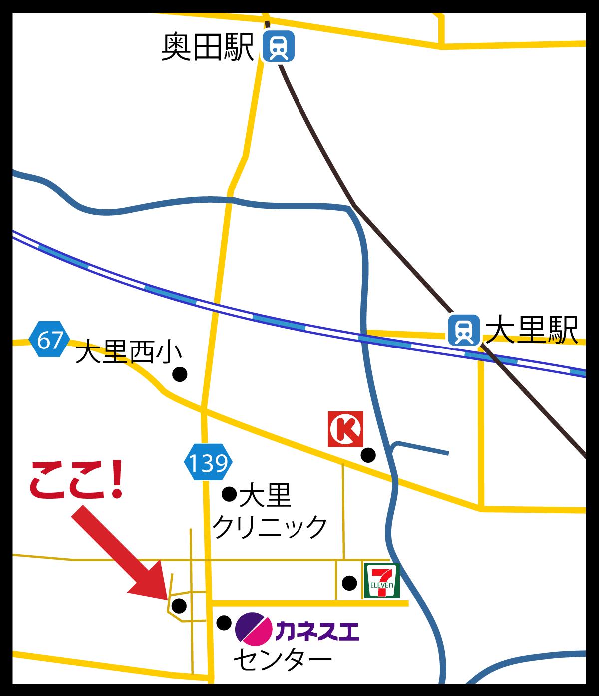 handheld version of map