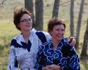 Coleen Wickdahl, Lesley Bartlett, NGE School owners